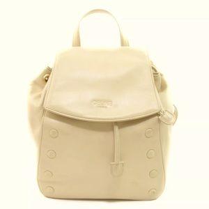 Celine Backpack Leather Nude